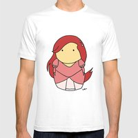 Ariel - The Little Merma… Mens Fitted Tee White SMALL