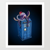 Octor Who Art Print