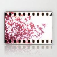 Holga x-processed pink spring tree Laptop & iPad Skin