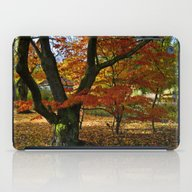 Red Autumnal Leaves iPad Case