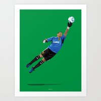 Nick Rimando - Goalkeeper Art Print