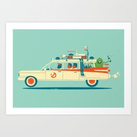 Art Print featuring Party in the Back by Jay Fleck
