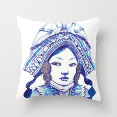 Baby Blue #3 Throw Pillow
