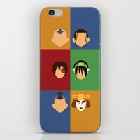 Team Avatar iPhone & iPod Skin
