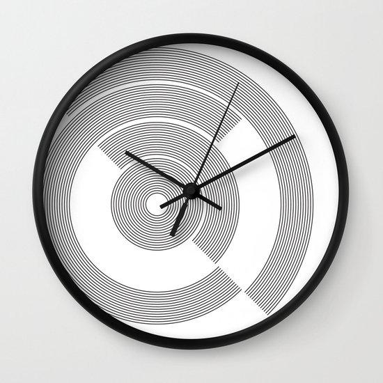 circle pattern 01 Wall Clock