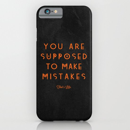 That's Life. iPhone & iPod Case