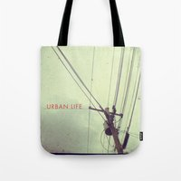 urban life project Tote Bag
