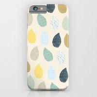rain drops pattern iPhone 6 Slim Case