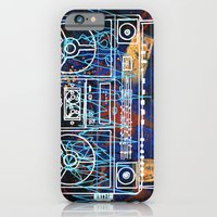 iPhone & iPod Case featuring Malicious Melody by Justin Perkins