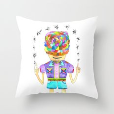 Young Magic Throw Pillow