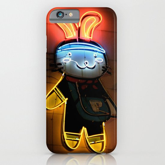 Neon Bunny  iPhone & iPod Case
