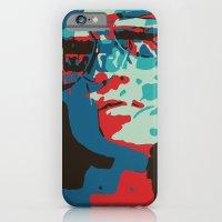 Portrait in Red iPhone 6 Slim Case