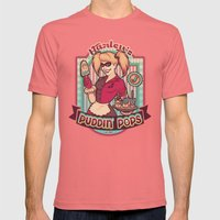 Harley's Puddin' Pops Mens Fitted Tee Pomegranate SMALL
