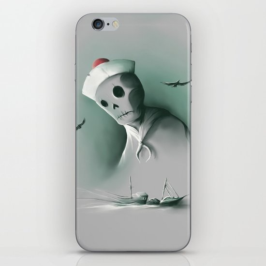 Wreckage of the past iPhone & iPod Skin