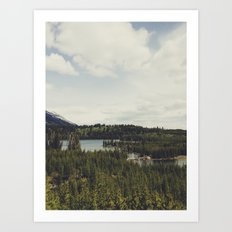 Taggart Lake Art Print