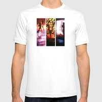 Mass Effect Mens Fitted Tee White SMALL
