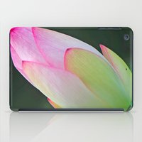 Pink Water Lily iPad Case