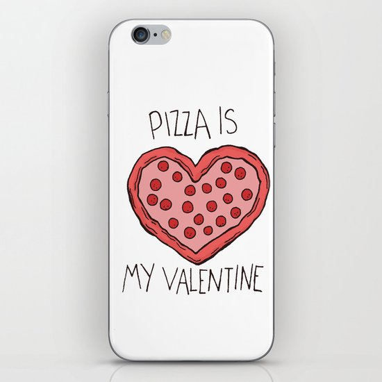 Valentine Pizza iPhone & iPod Skin