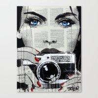 MOMENTO Canvas Print