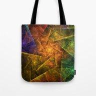 Star Network Tote Bag