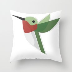 Muttervogel Throw Pillow