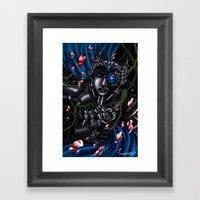Bed Of Thorns Framed Art Print