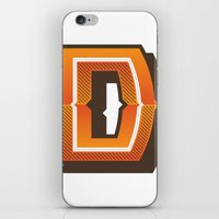 The Letter D iPhone & iPod Skin