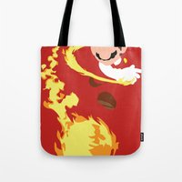 Mario - Fire Flower Mari… Tote Bag