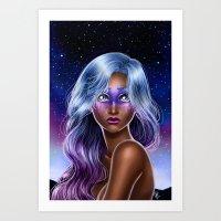 Midnight Oracle  Art Print