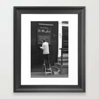 Special Of The Day... Bu… Framed Art Print