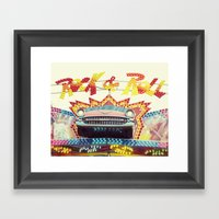 Rock & Roll Framed Art Print