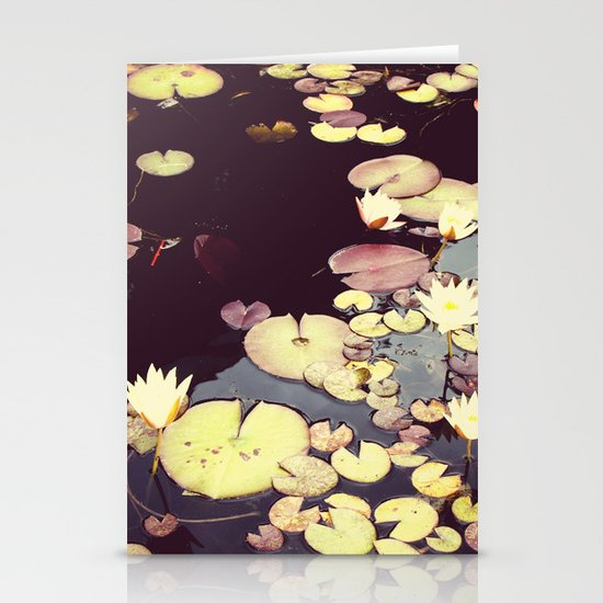 Sea Of Flowers Stationery Card