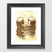 Forever Entwined  Framed Art Print