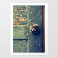 The Backdoor Art Print