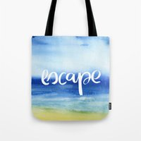 Escape [Collaboration with Jacqueline Maldonado] Tote Bag