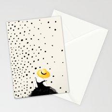 Polka Rain II Stationery Cards
