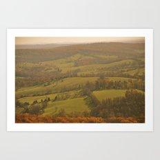 Natty Bumppo's View Art Print