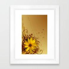 LIKE A FLOWER X Framed Art Print