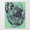 jungle kong Canvas Print