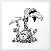 Forest Totem Art Print