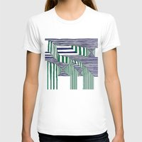 stripes T-shirts featuring Stripes by Take Five