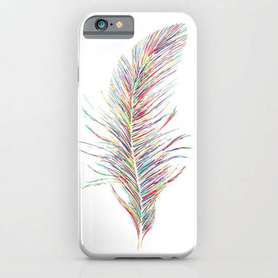Rainbow Feather  iPhone & iPod Case