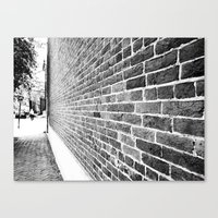Old Town II Canvas Print