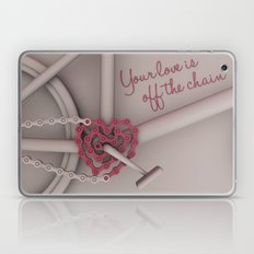 Your love is off the chain Laptop & iPad Skin