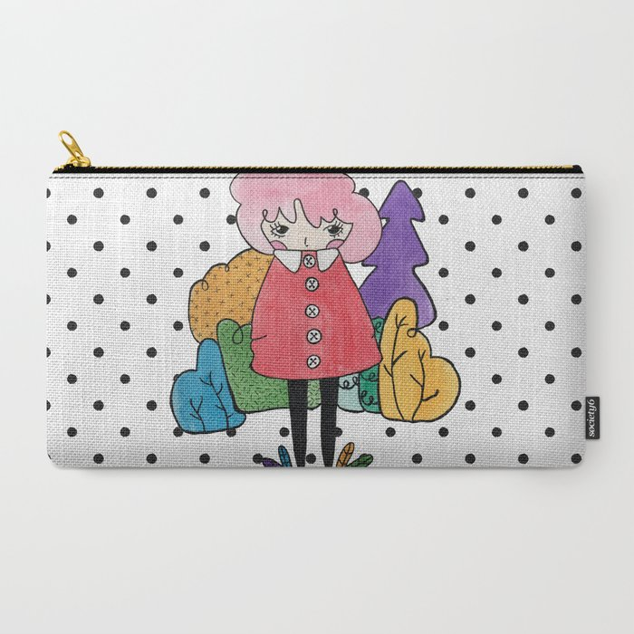 Forest Dweller Carry-All Pouch Hello Quirky - April Indie Shopping