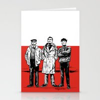 Three dudes Stationery Cards