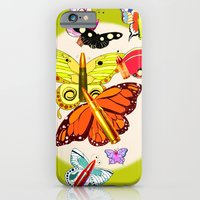 Bullet With Butterfly Wi… iPhone 6 Slim Case