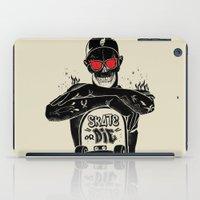 SKATE OR DIE iPad Case