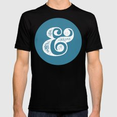 Ampersand SMALL Mens Fitted Tee Black