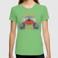 Splash Gym Womens Fitted Tee Grass SMALL